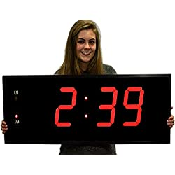 Giant 8 Numbers LED Digital Clock with Remote