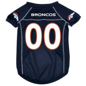 Denver Broncos NFL pet dog mesh football jersey XS 4-10 lbs