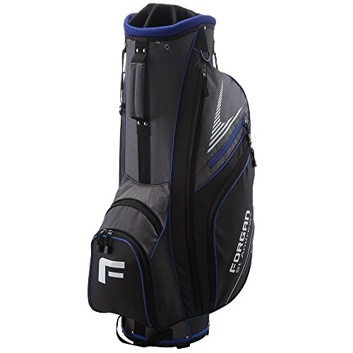 220324cfd Forgan of St Andrews Super Lightweight Golf Cart Bag with 14 Club Dividers  Blue