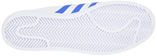 adidas Unisex Adult Superstar Low-Top Sneakers White (Ftwr White/Ray Blue) ohVsyTk