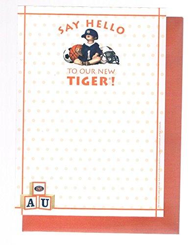 Auburn University (AU) Tigers New Baby Birth Announcements - Tigers University Auburn Au