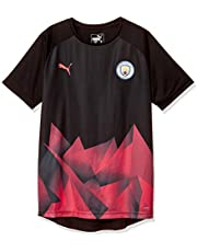PUMA MCFC Stadium International Jersey Jr - Maillot Unisex niños