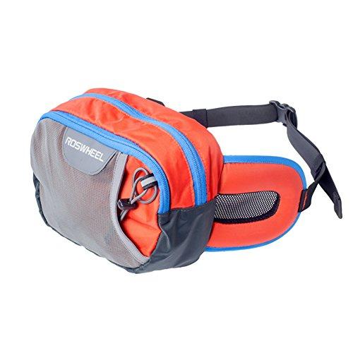 HSL Outdoor-Camping Wandern Reiten Hufttasche Nylong orange