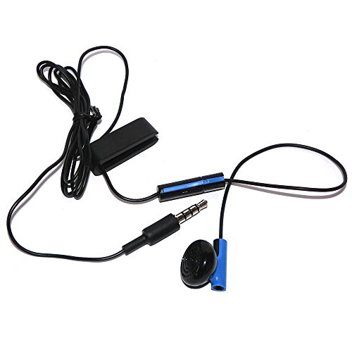 Official Headset Earbud Headphone Microphone Earpiece For Sony Playstation 4 PS4 (Original Version) ()
