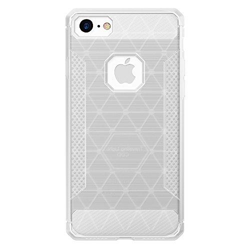 JIALUN-carcasa de telefono Para Apple IPhone 7 caso anti-vibración Cool cubierta trasera de protección ( Color : Gold ) White