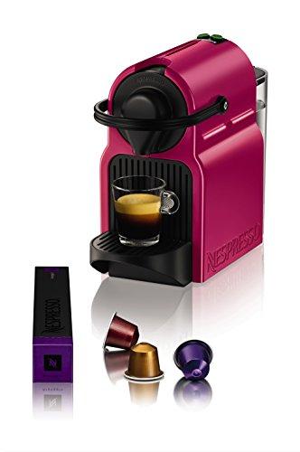 Krups Nespresso - XN1007 cafetera Inissia fucsia: Amazon.es: Hogar