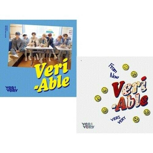 VeriVery - [Veri-Able] 2nd Mini Album 2 Ver SET CD+Booklet+1p Post+1p Clear Photo+2p Photo Card+1p Contact Sheet+Tracking K-POP ()