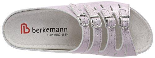 Argenté Femme Berkemann Hassel Silber Mules 673 Rosé qwx6Avt