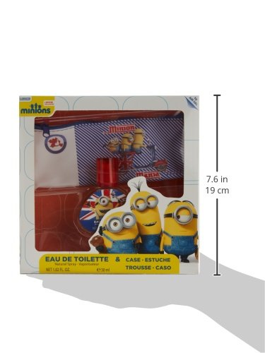 Minions for Kids, 2 Piece Gift Set with Metal Box