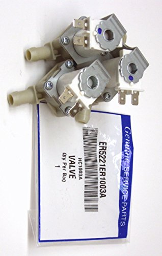 Supco WV1003A Washer Water Valve, Replaces LG 5221ER1003A 5221ER1003D 5221ER1003C 1268130 3527452
