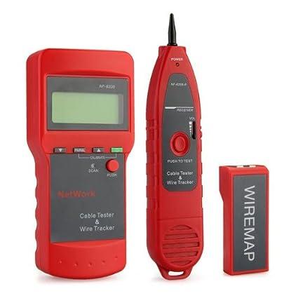 Teléfono Red Cable circuito alambre línea buscador Rastreador probador generador de tonos