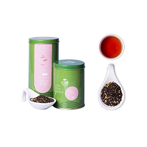 Fennel Turmeric Chai by The Tea Shelf (100gm/3.5oz) – Detox Tea, ABUNDANT IN ANTI-OXIDANTS & NUTRIENTS - Rejuvenating & Energizing, 100% authentic Indian spiced tea, brew hot with ()