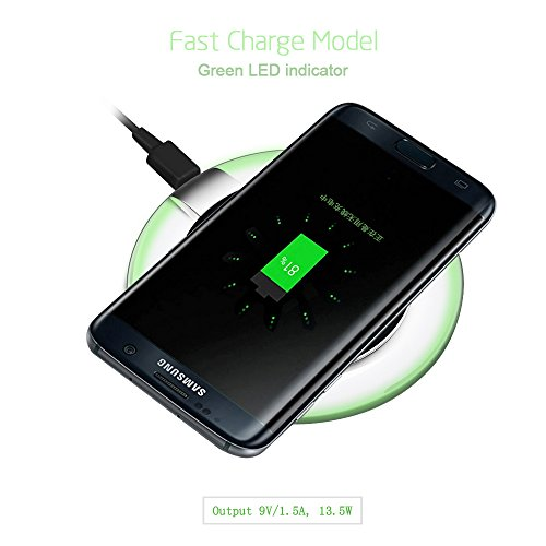 fast wireless charger ugpine qi wireless charging pad for. Black Bedroom Furniture Sets. Home Design Ideas