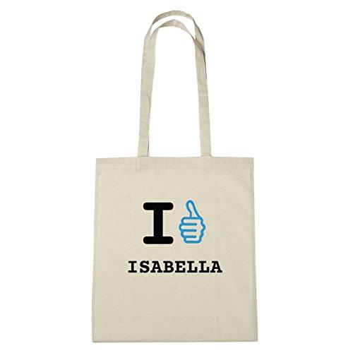 I Isabella Sac LikeIch Jollify Coton B5438 En NaturHände Mag Herz F1uJKlTc35