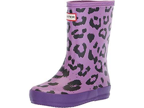 (Hunter Kids Baby Girl's First Classic Leopard Print (Toddler/Little Kid) Thistle/Acid Purple/Mist Pink 9 M US Toddler)