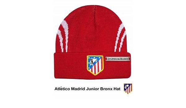 c88c256b262b25 Amazon.com : Atletico Madrid Crest Junior Bronx Hat : Sports & Outdoors