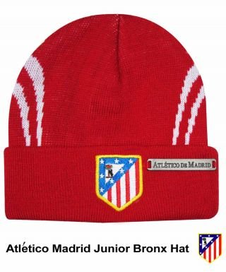 55163accac60e5 Image Unavailable. Image not available for. Color: Atletico Madrid Crest  Junior Bronx Hat