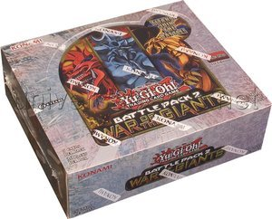 YuGiOh Battle Pack 2 War of the Giants Booster Box by Yu-Gi-Oh!