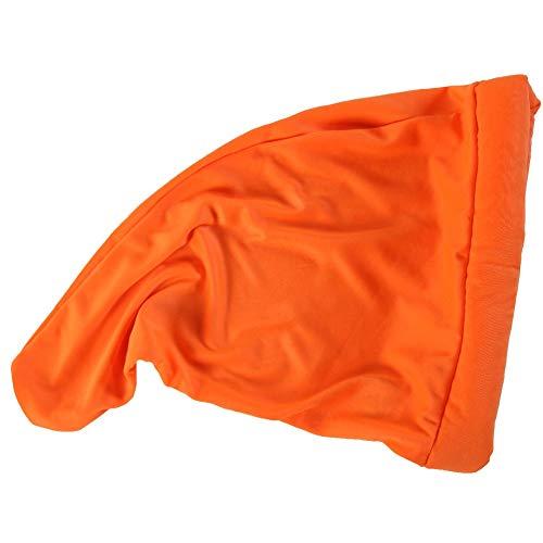 Dwarf or Gnome Costume Hat, Neon Orange -