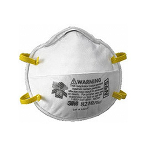 3M N95 Partculate Respirator Mask, 20 Per Box, 1 Box by 3M