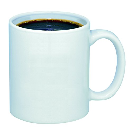 Promotional Products in Bulk (Blank No Imprint) - Budget Mug - 11 oz - White Color ( Pack Of - 72 )