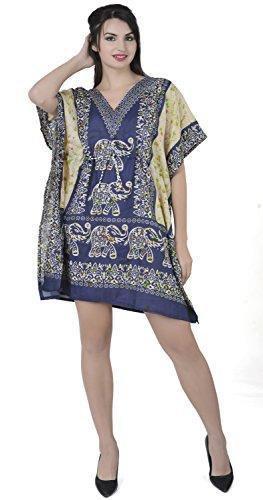 SKAVIJ Kaftan Dress For Women Beach Cover Up Maxi Dress Gown Formal Lounge Wear