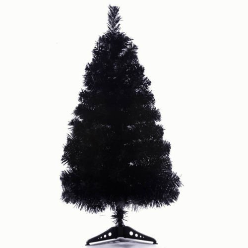 StillCool 2ft / 60cm Artificial Christmas Tree Christmas Party Home Decoration -- Black