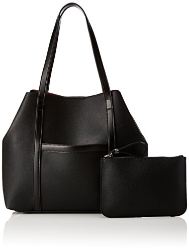 Connection 12 Julia black Saffiano Mehrfarbig 5x34 Cm Tote X H shiny T 5x48 Borse Donna Shopper Silver French b q4fc8dq
