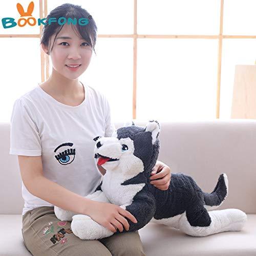 (Soft Plush Stuffed Animal Dogs | Huskey Dog Dolls | for Children Kids | Birthday)