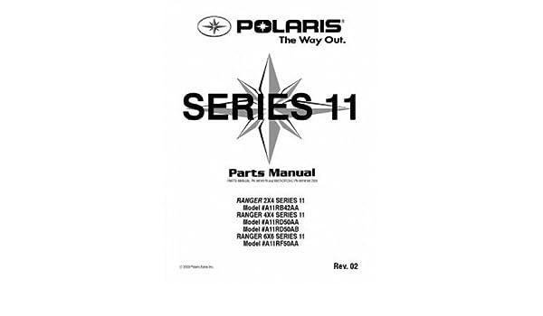9918179 Polaris RANGER 2×4 4×4 6×6 Series 11 Parts Manual