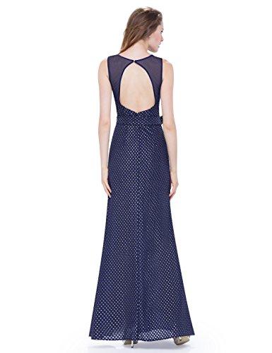 Ever Pretty - Vestido - Noche - para mujer azul marino