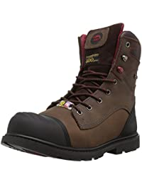 Men's 7573 Insulated Waterproof Comp Toe Puncture Resistant EH Work Boot Industrial and Construction Shoe