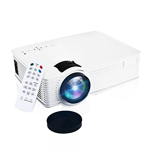 GBTIGER Portable Mini Projector 2000 Lumens 1920 x 1080 P...