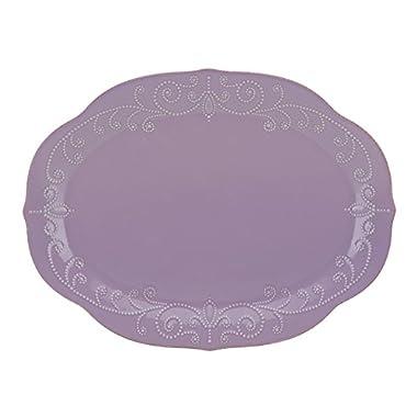 Lenox French Perle Violet Oval Platter