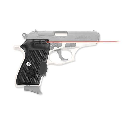 Crimson Trace Rubber (Crimson Trace LG-442 Lasergrips Red Laser Sight Grips for Bersa Thunder and Firestorm Pistols)