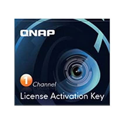 Amazon com: QNAP 1 Camera License Activation Key for