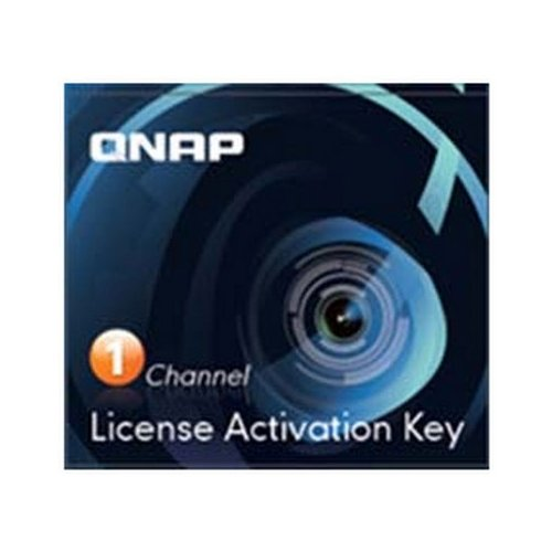 QNAP 1 Camera License Activation Key for Surveillance Station Pro for QNAP NAS / LIC-CAM-NAS-1CH / by QNAP