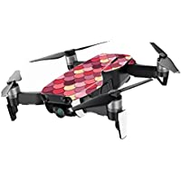 MightySkins Skin for DJI Mavic Air Drone - Pink Scales | Min Coverage Protective, Durable, and Unique Vinyl Decal wrap cover | Easy To Apply, Remove, and Change Styles | Made in the USA