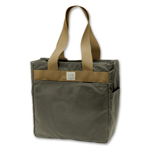 Filson – Style 70111 Oil Finish Tote Bag (Otter Green), Bags Central