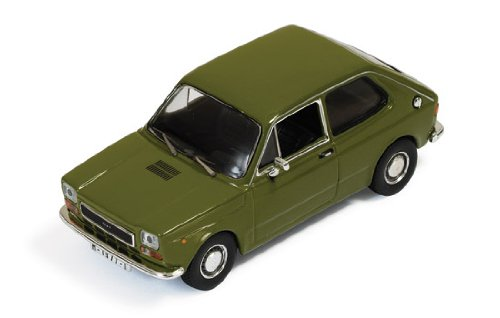Ixo 1/43 Scale Prefinished Fully Detailed Diecast Model, 1974 Seat 127 Coupe in Olive Green with Spanish License Plates #CLC153