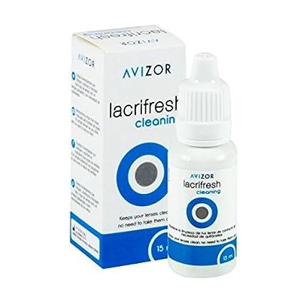 9a585135a9 Avizor Lacrifresh - Lentes de contacto para limpieza e hidratación (15 ml)