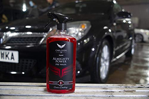 Car Gods 54 Car Paintwork Pre Wash Hades Almighty Power Pre-Wash 1L