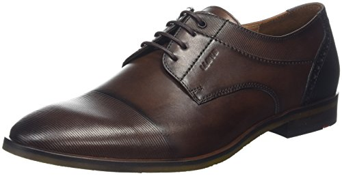 LLOYD Henley, Scarpe Stringate Derby Uomo Marrone (Cigar/Pacific 2)