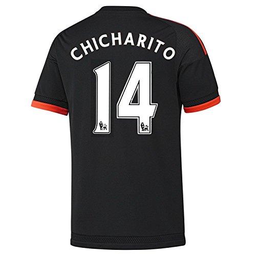 硬化する適格不利Adidas Chicharito #14 Manchester United Third Soccer Jersey 2015(Authentic name and number of player)/サッカーユニフォーム マンチェスター ユナイテッド FC Third用 チチャリート 背番号14 2015
