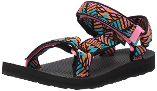 Teva Women's Original Universal Sandal, Boomerang Pink Lemonade, 9 Medium US