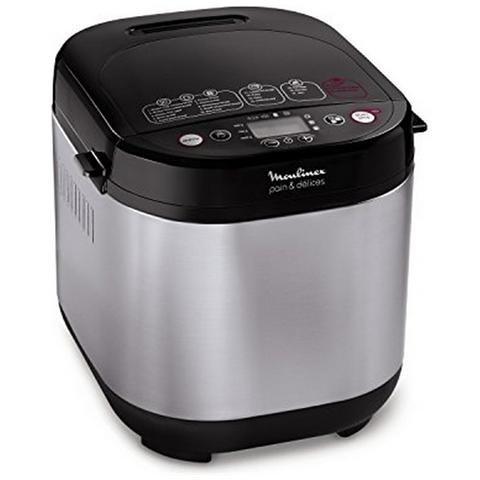 Moulinex Pain & Delices máquina para el pan ow240e 1000 gr, 3 niveles de dorar, 17 programas: Amazon.es: Hogar