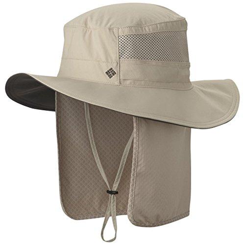 Columbia Coolhead Zero UPF 50 Booney Hat, Fossil, (Upf 50 Booney Hat)