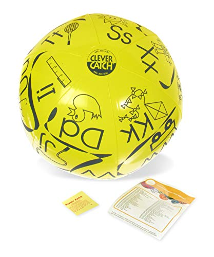- American Educational Vinyl Clever Catch ABC Ball, 24
