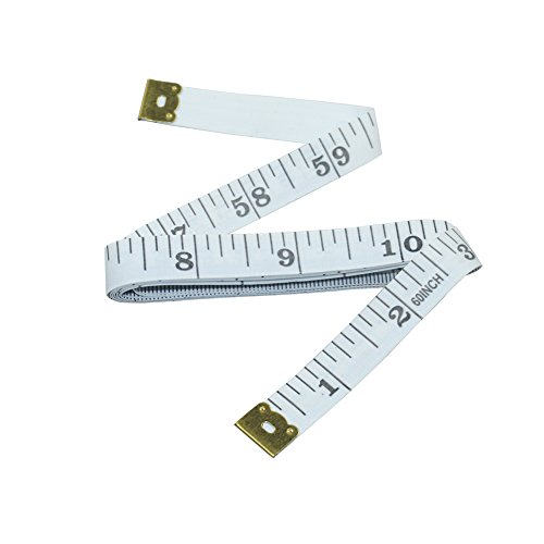 Nanooer Flexible Lightweight Tape Measure Body for Sewing Tailor 60' Cloth Ruler