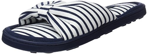 Knot Slprs Pantoufles Femme Women'secret 13 stripes Da1 Bleu azul 1gpTvT